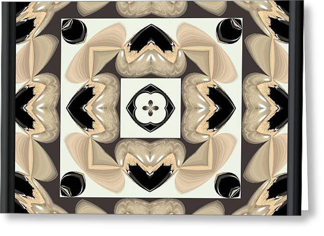 Abstract A029 Greeting Card by Maria Urso