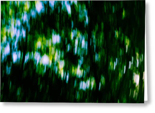 Mkz Greeting Cards - Abstract Above Greeting Card by Mary Zeman
