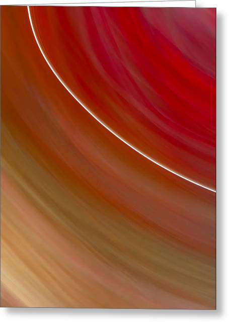 Cheap Abstract Art Greeting Cards - Abstract Art - String of Hope Greeting Card by Laria Saunders