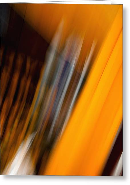 Cheap Abstract Art Greeting Cards - Abstract Art - Triumph Over Rods Greeting Card by Laria Saunders