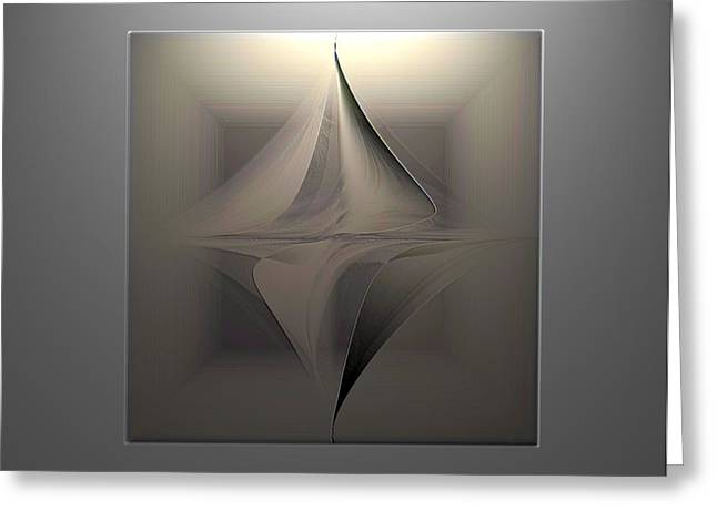 Abstract Duet Greeting Card by Ines Garay-Colomba