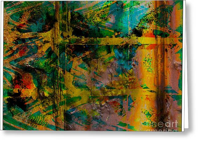 Pretense Greeting Cards - Abstract - Emotion - Facade Greeting Card by Barbara Griffin