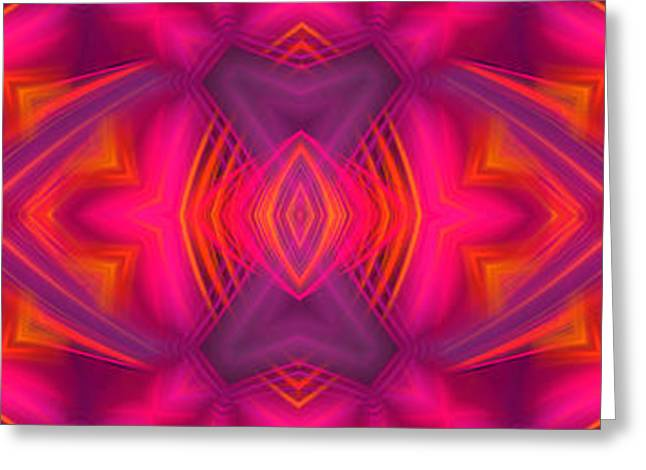 Modern Digital Art Digital Art Greeting Cards - Abstract Fantasy Greeting Card by Hanza Turgul