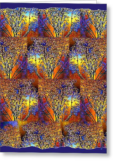 Amalgamation Greeting Cards - Abstract Fusion 142  Greeting Card by Will Borden