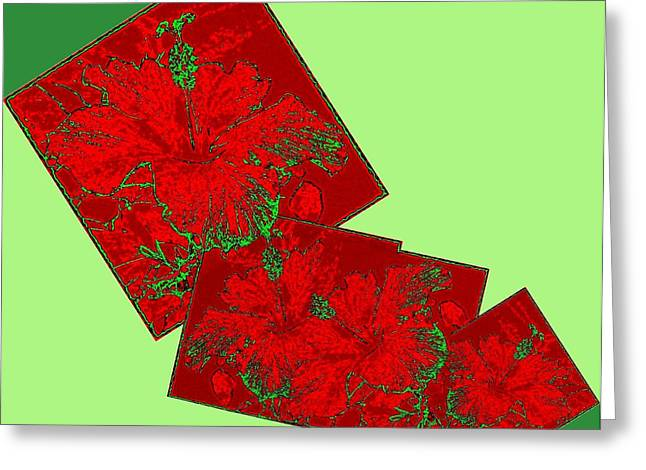 Amalgamation Greeting Cards - Abstract Fusion 172 Greeting Card by Will Borden