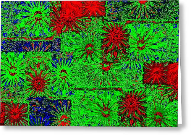 Abstract Fusion Greeting Cards - Abstract Fusion 230 Greeting Card by Will Borden