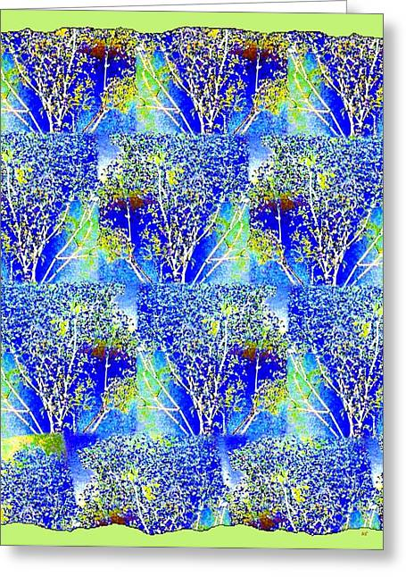 Abstract Fusion Greeting Cards - Abstract Fusion 239 Greeting Card by Will Borden