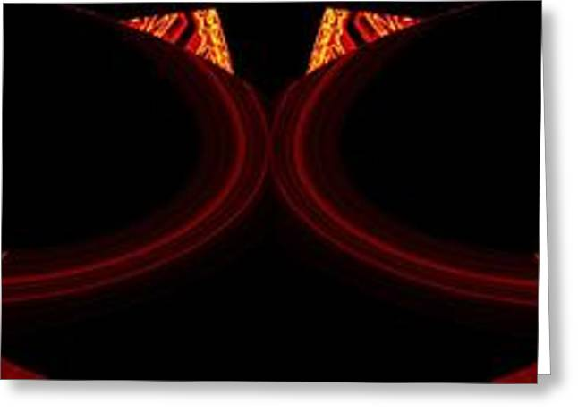 Intrigue Greeting Cards - Abstract Fusion 250 Greeting Card by Will Borden