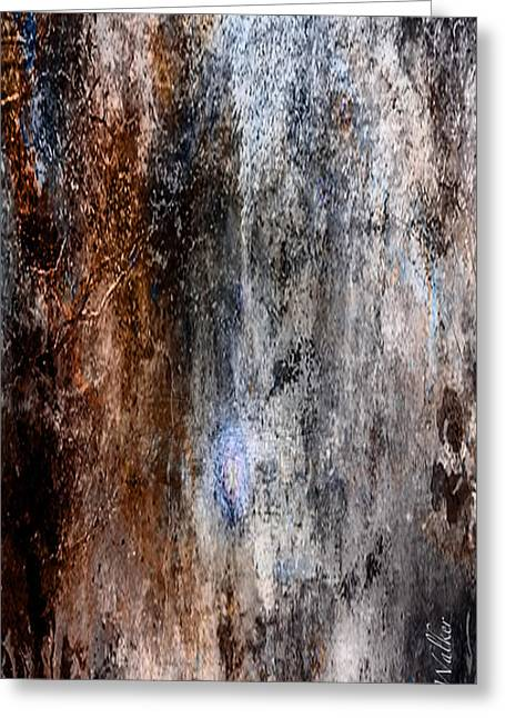 Abstract G - From Series 1 Greeting Card by J Larry Walker