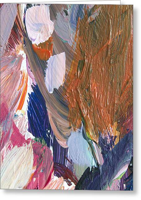 Free Form Paintings Greeting Cards - Abstract Heart Greeting Card by David Lloyd Glover