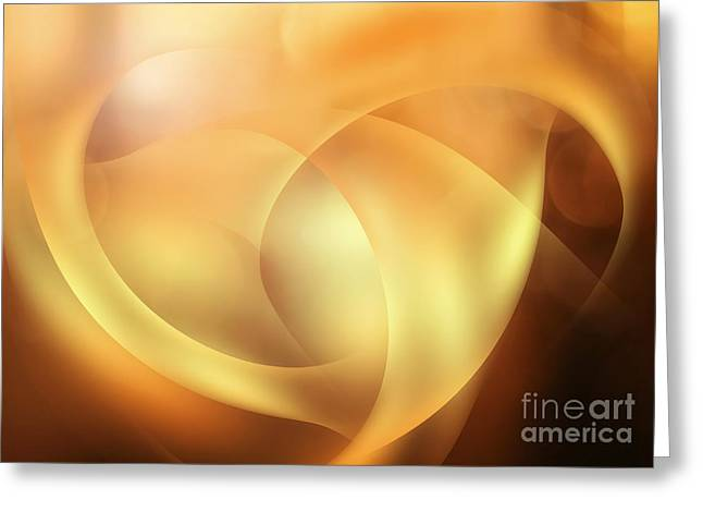 Greeting Cards - Abstract Imaginations Greeting Card by Martin Dzurjanik