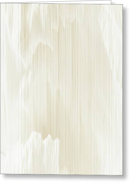 Tablets Greeting Cards - Abstract in White Greeting Card by Rafael Salazar