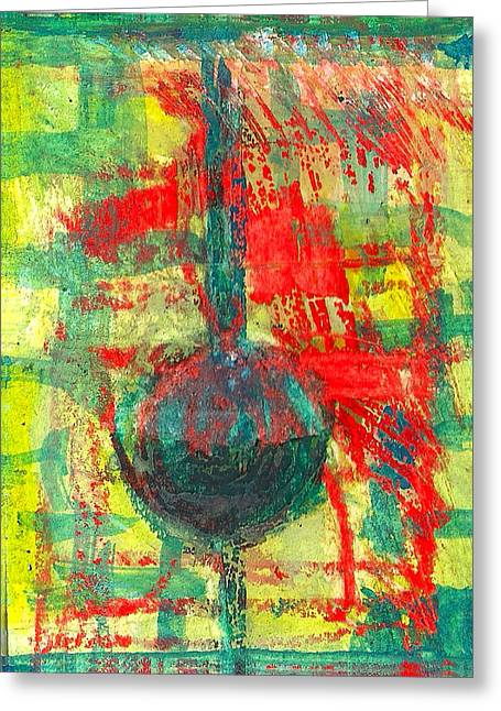 Loose Pastels Greeting Cards - Abstract Greeting Card by James Raynor