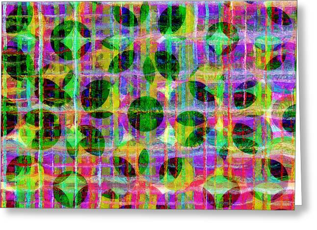Lines Greeting Cards - Abstract Lines 17 Greeting Card by Edward Fielding