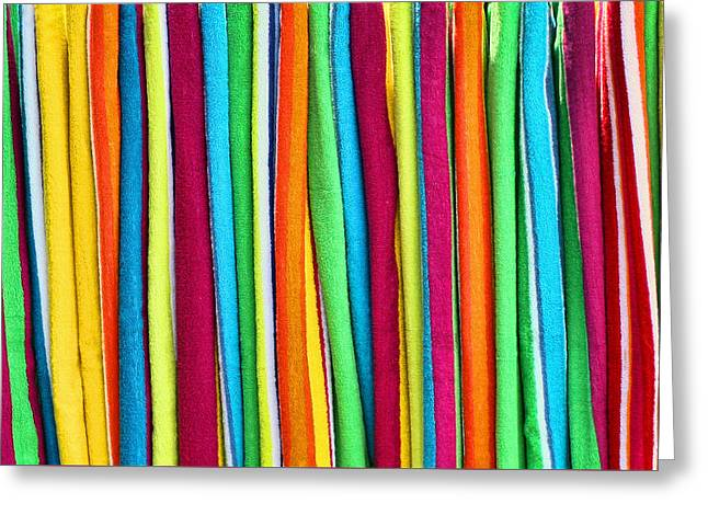 Abstract  Greeting Card by Marcia Colelli