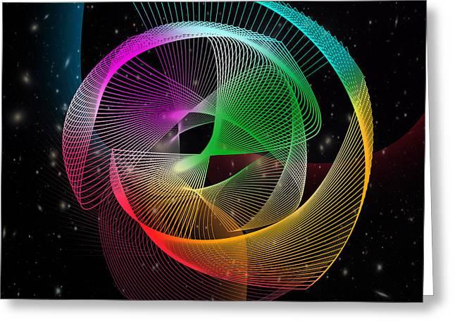 abstract  Greeting Card by Mark Ashkenazi