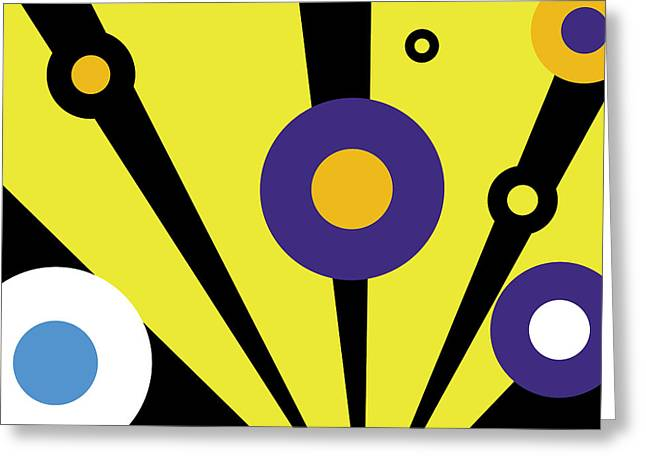 Eps10 Greeting Cards - Abstract N17 Greeting Card by Dhouib Skander