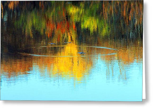 Abstract Nature Greeting Card by Matthew Grice