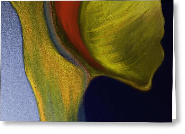 Shesh Tantry Greeting Cards - Abstract no. 226 Greeting Card by Shesh Tantry