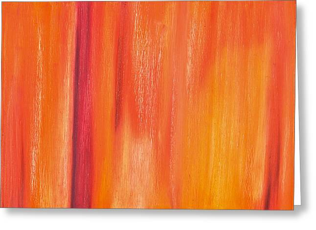 Foretelling Greeting Cards - Abstract No 5 Praedicta Opes Obtinendi Greeting Card by Brian Broadway
