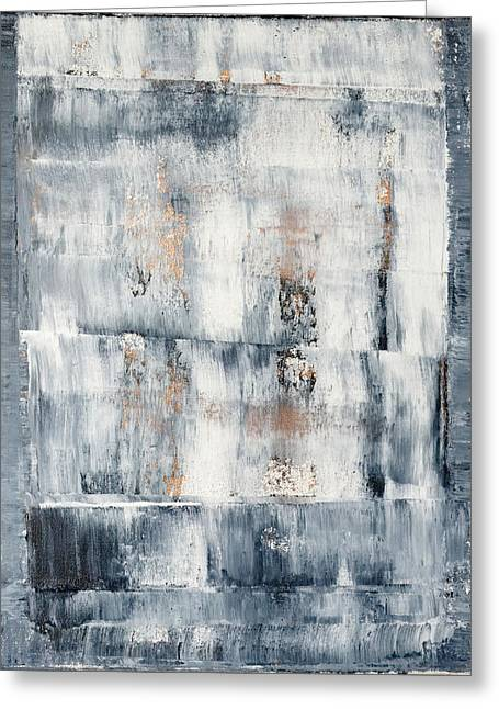 Richter Greeting Cards - Abstract Painting No. 1 Greeting Card by Julie Niemela