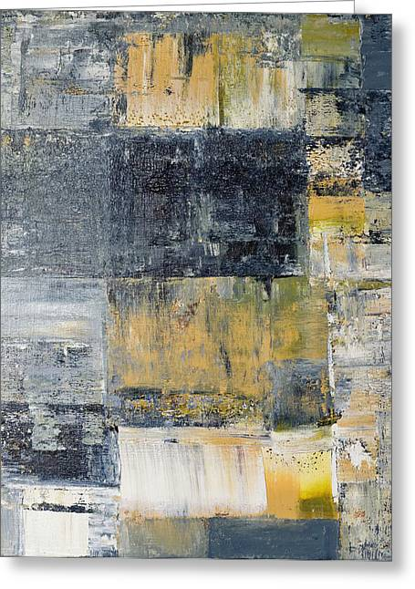 Richter Greeting Cards - Abstract Painting No. 4 Greeting Card by Julie Niemela