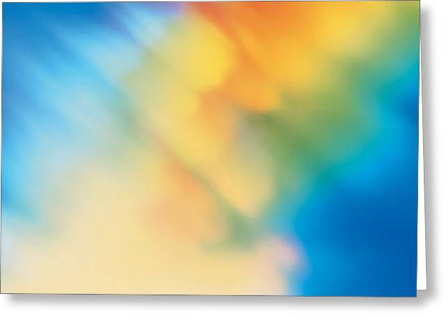 Tie Dye Greeting Cards - Abstract Greeting Card by Panoramic Images