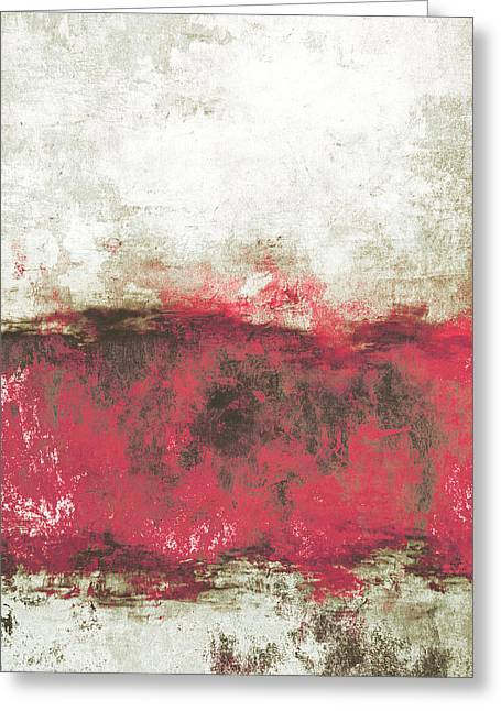 Abstract Rain Greeting Cards - Abstract Print 21 Greeting Card by Filippo B