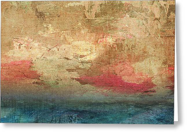 Abstract Print 3 Greeting Card by Filippo B