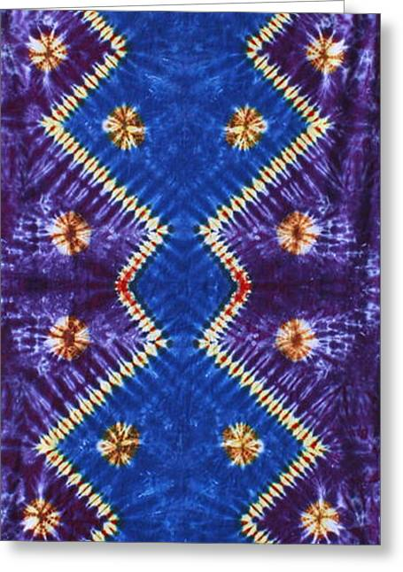 Light Blue Tapestries - Textiles Greeting Cards - Abstract Pulse Greeting Card by Carl McClellan