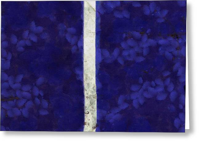 Atonement Greeting Cards - Abstract Rectangles IV Greeting Card by Edward Fielding