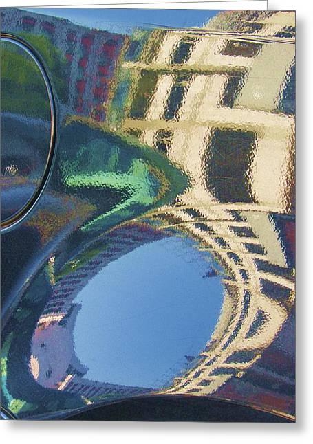 Abstract Reflection #2 Greeting Card by Svetlana Rudakovskaya