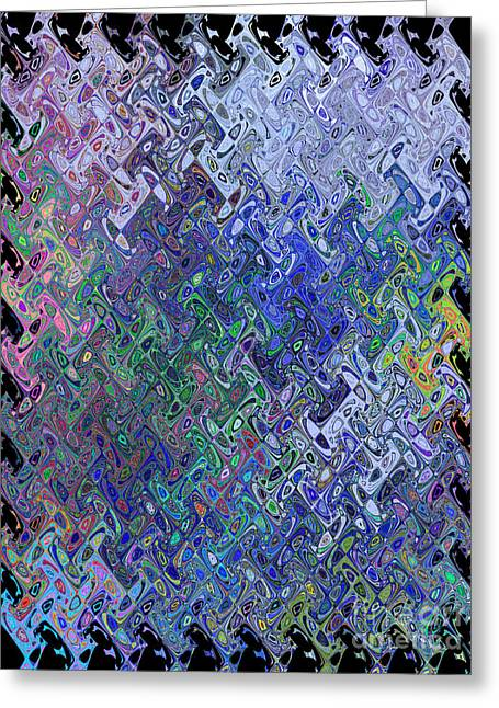 Decorate Greeting Cards - Abstract Reflections Greeting Card by Robyn King