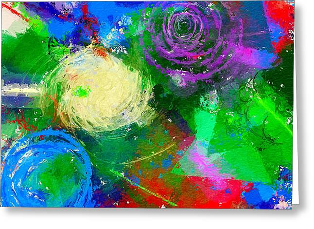 Interior Still Life Digital Art Greeting Cards - Abstract Space 1 Greeting Card by Yury Malkov