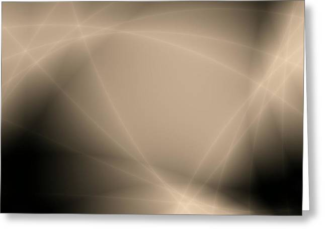 Storm Framed Prints Digital Greeting Cards - Abstract storm light Greeting Card by Roman Aj