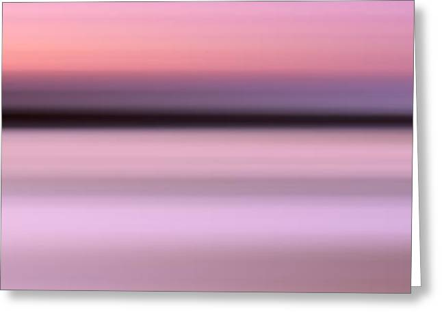 Sunset Abstract Photographs Greeting Cards - Abstract Sunset 1 Greeting Card by Rod McLean