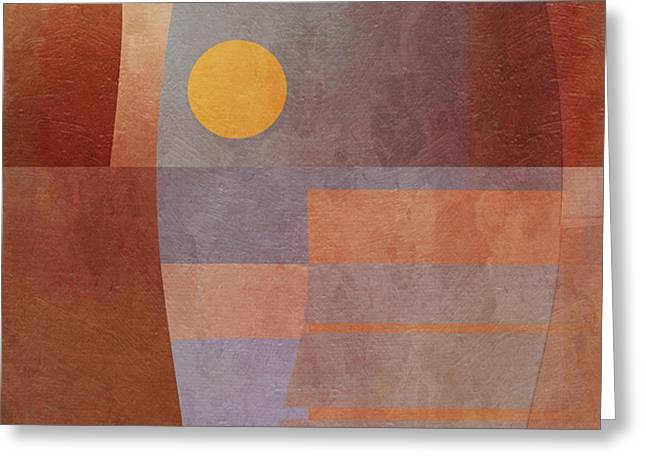 Abstract Tisa Schlemm 03 Greeting Card by Joost Hogervorst