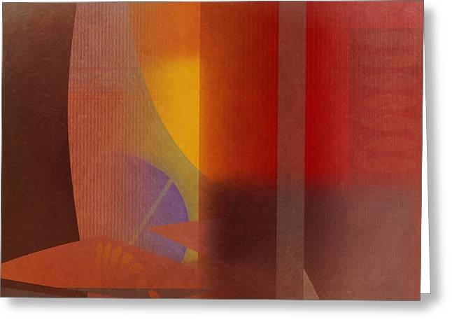 Abstract Tisa Schlemm 04 Greeting Card by Joost Hogervorst