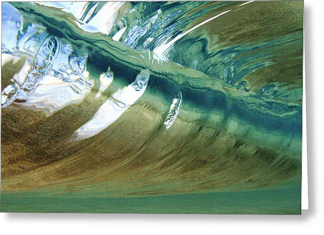 Abstract Underwater 2 Greeting Card by Vince Cavataio - Printscapes