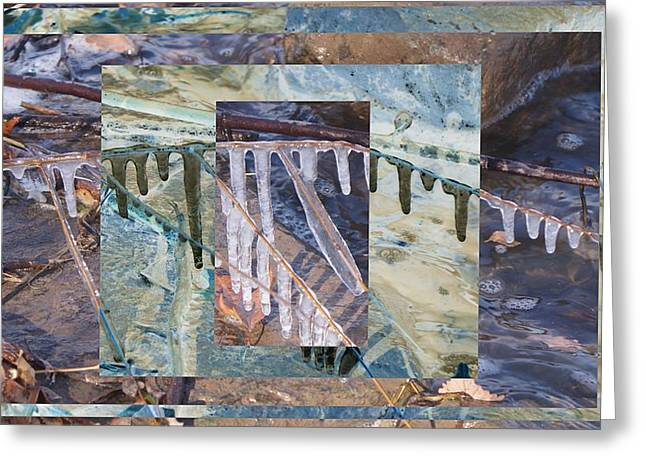 Mystifying Greeting Cards - Abstract works Greeting Card by Rob Luzier