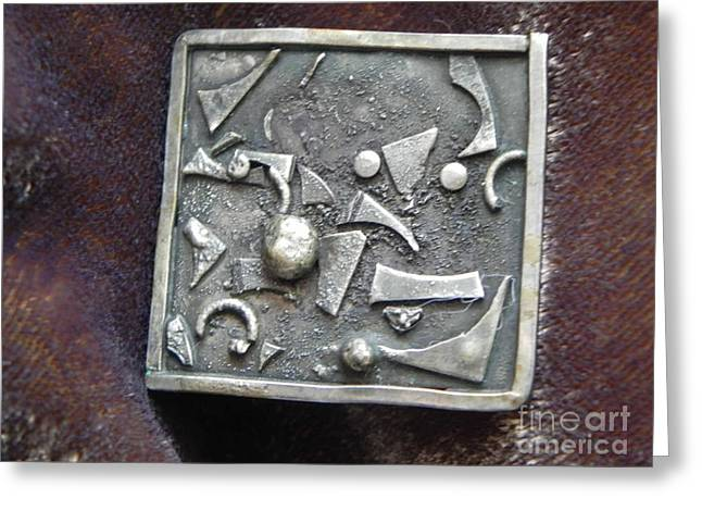 Abstract Jewelry Greeting Cards - Abstract10 Greeting Card by Patricia  Tierney