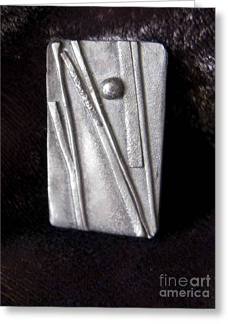 Abstract Jewelry Greeting Cards - Abstract5 Greeting Card by Patricia  Tierney