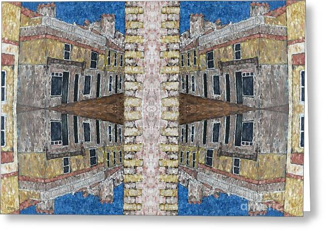Merchandise Mixed Media Greeting Cards - Abstraction 120 Greeting Card by Patrick J Murphy