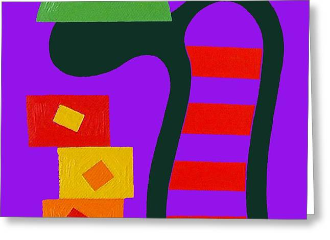 Abstraction 230 Greeting Card by Patrick J Murphy