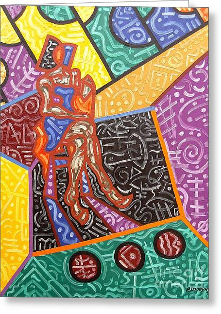 Hoodies Greeting Cards - Abstraction 7 Greeting Card by Patrick J Murphy