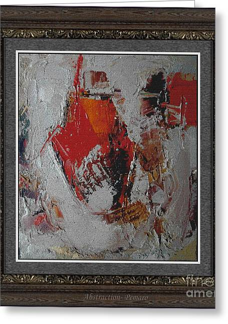 Abstraction Abstr2 Greeting Card by Pemaro