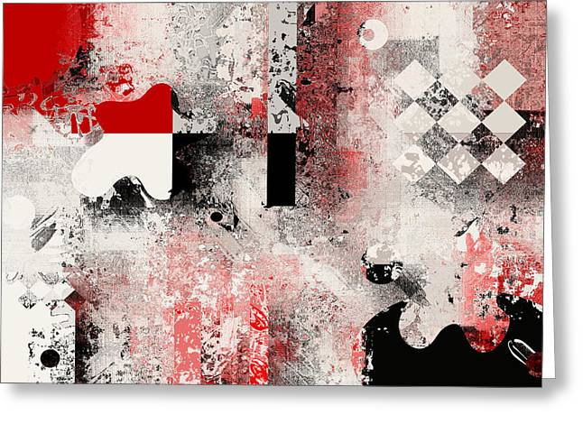 Abstracture - 103106046a Greeting Card by Variance Collections