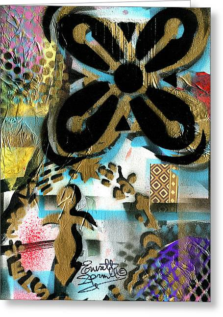 Pablo Mixed Media Greeting Cards - Abundance - 2014 Greeting Card by Everett Spruill