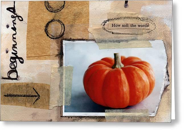 Abundance Greeting Card by Linda Woods