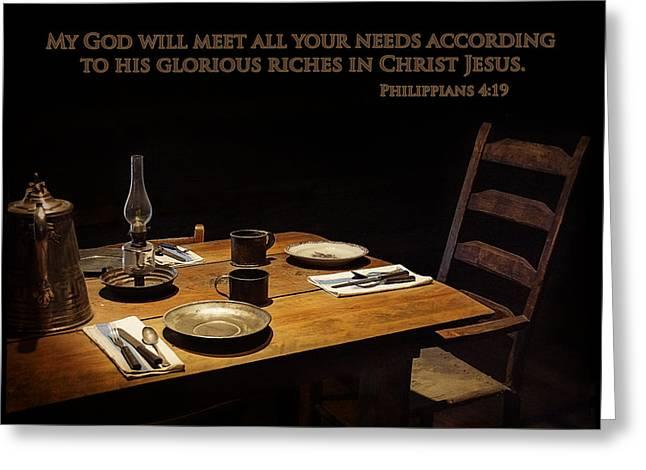Prescott Greeting Cards - Abundance Greeting Card by Priscilla Burgers